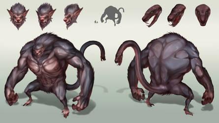 Beast King Zoola by Taihido