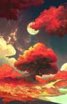 Autume Fire by RichardLayArt