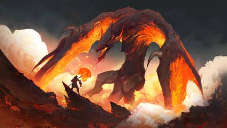 Rising Dragon Lords by RichardLayArt