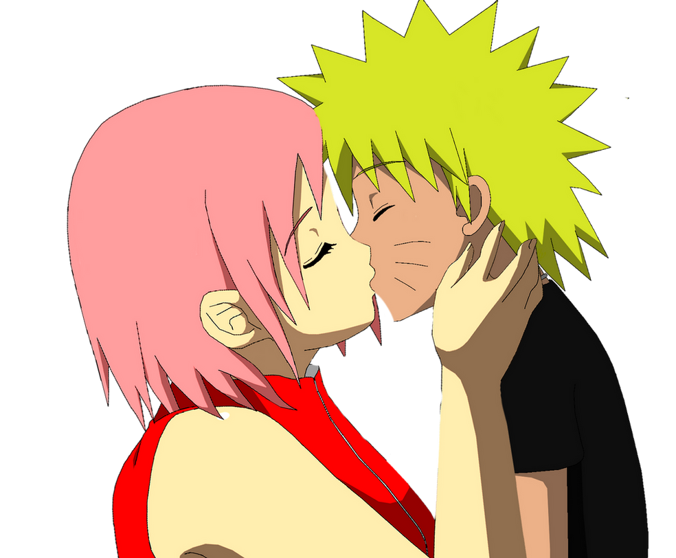 naruto and sakura kiss png by lauradulion on deviantart