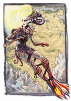 Maidens of the Seven Seas - Siberian Mermaid by Grunnet