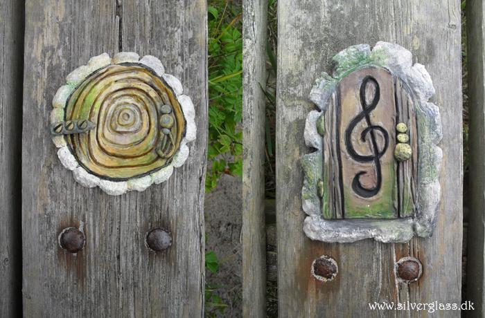 Forest fairy doors by Grunnet