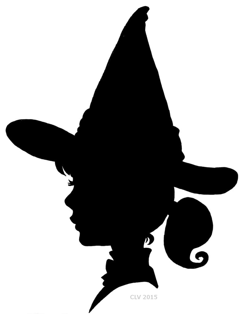 witch silhouette by crislavenuta on deviantart