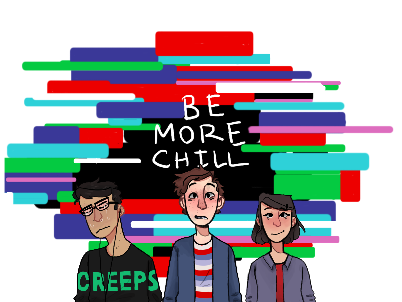 Be More Chill By Alytart On Deviantart