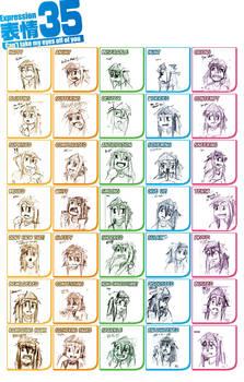 35 Expressions Meme-Biancatras