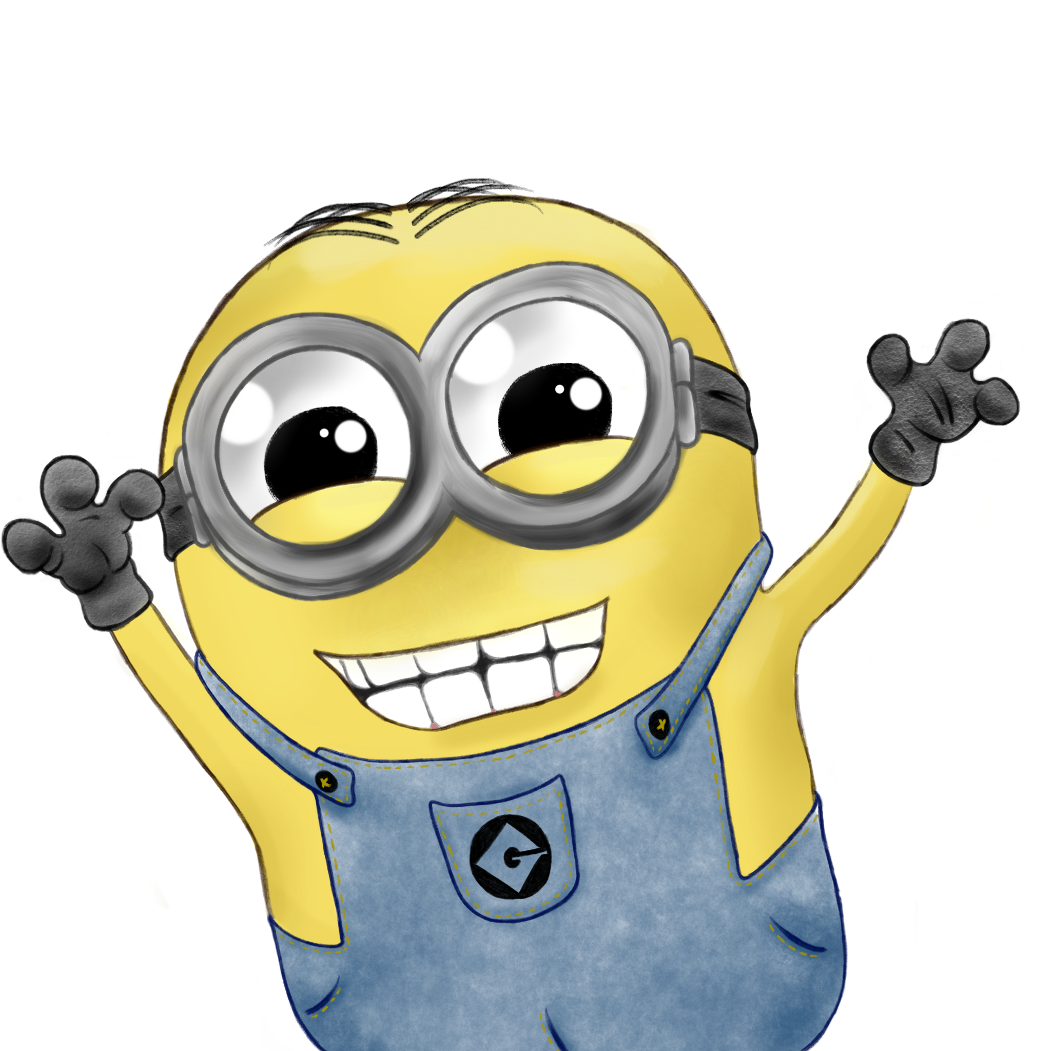Minion Despicable Me by SangrePrimitiva on DeviantArt Minion Drawing Dave