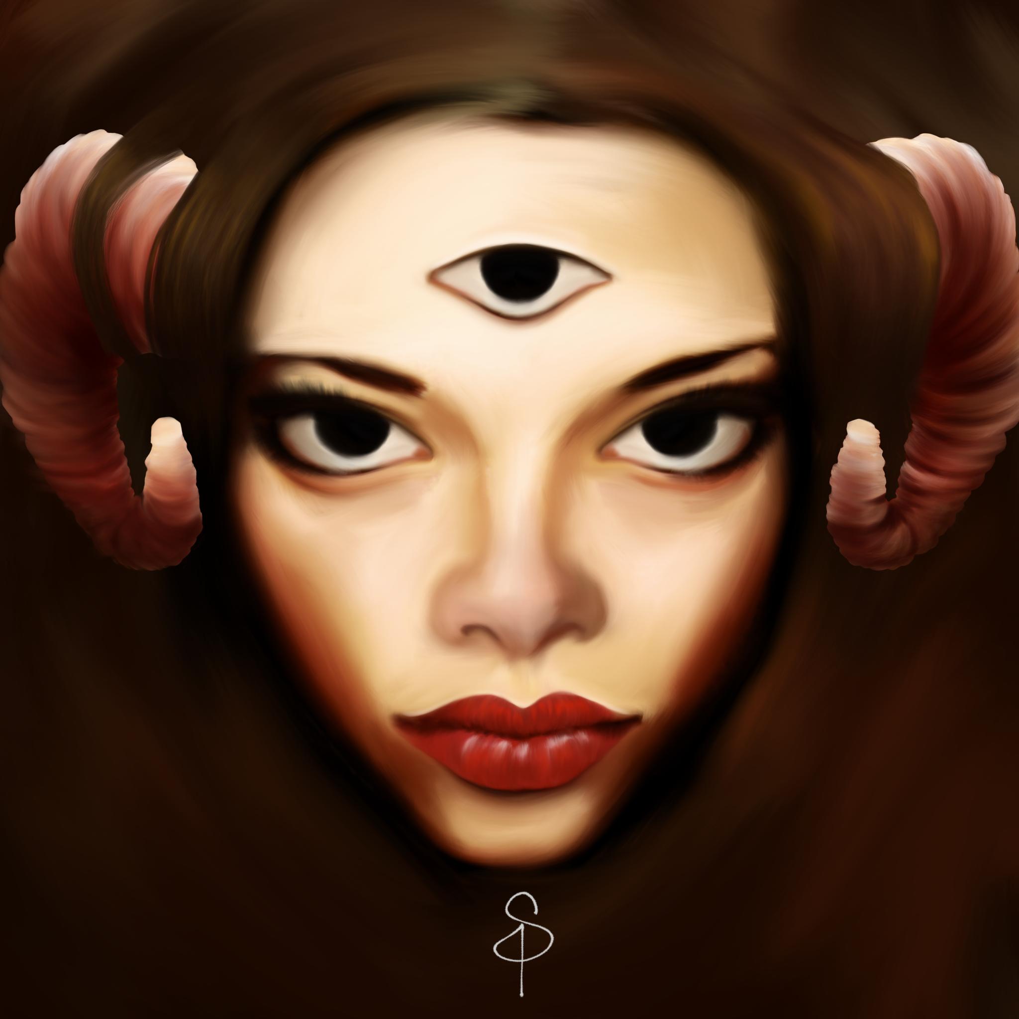 Face by SangrePrimitiva