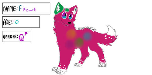 Firework (BREEDABLE) -DOG- by danicoolgirl