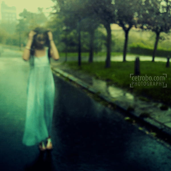 Balade sous la pluie by cetrobo