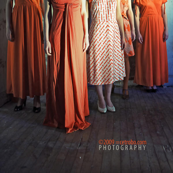 THE ORANGE DRESS by cetrobo