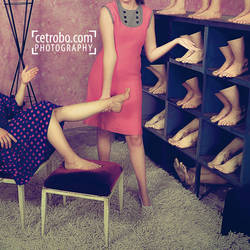 THE FEET STORE by cetrobo