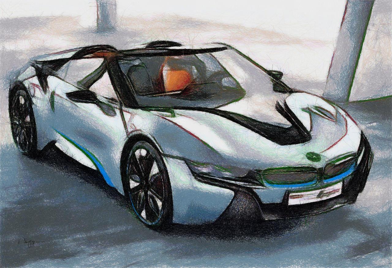BMW I8 Spyder 02 By RHuggs