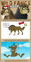 Wild Fangs meme by Raccoon5