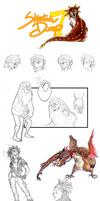 Sketch Dump 7 by Raccoon5