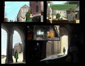 Delphina's Adventure: INTO THE SWIM pg.5-6