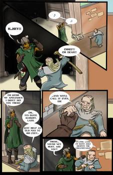 Delphina's Adventure: INTO THE SWIM pg.7