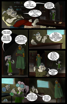 Delphina's Adventure: INTO THE SWIM pg. 12