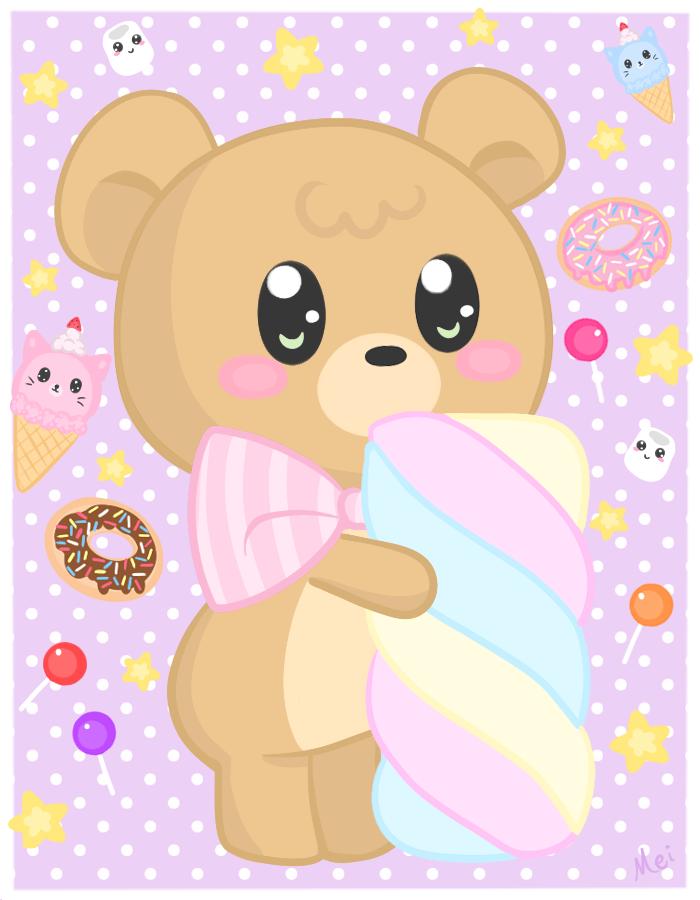 Oh Candy Bear by deviruchii