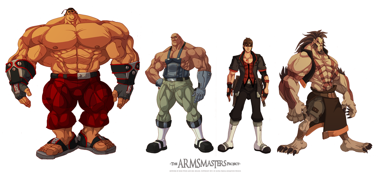 ARMSmasters Color Line Up 02 by mikewinn