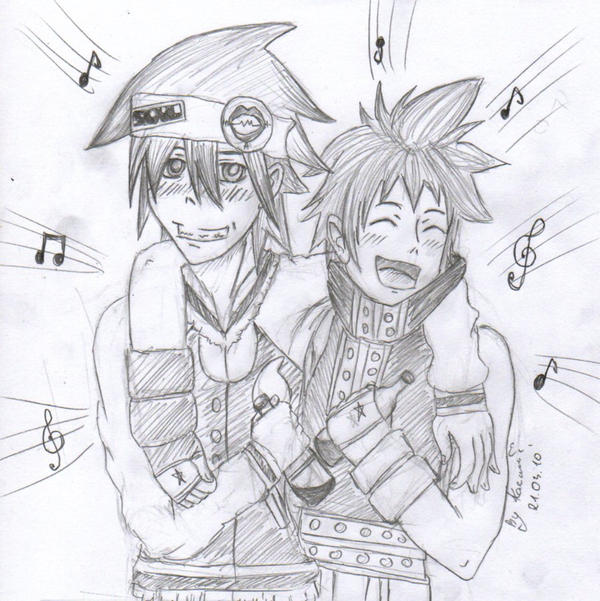 Soul and Black Star by 1Kasumi