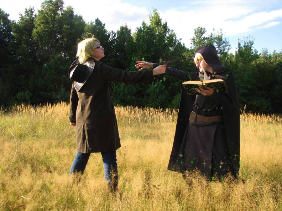 Hetalia Fantasia fight by 1Kasumi