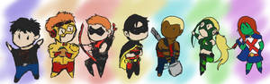 Chibi Young Justice