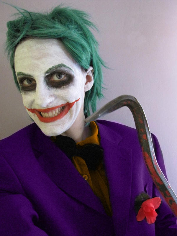 Joker cosplay by 1Kasumi
