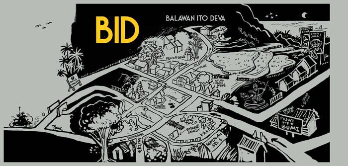 CD Cover Design for BID