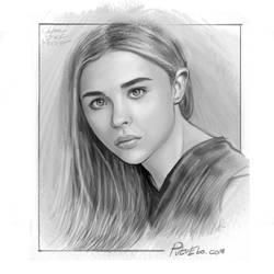 Chloe Grace Moretz by putuebo