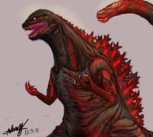 Shin Godzilla by destroyah3