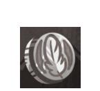 Silver Plume Coin by Plumeria-Compendium