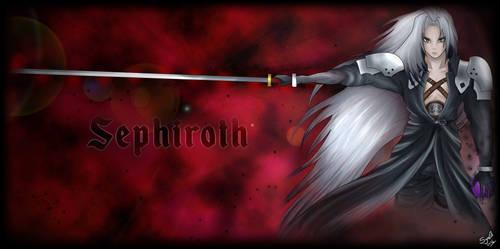 Sephiroth Wallpaper by LunaSyney