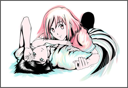 Yukino and Arima | Kare Kano
