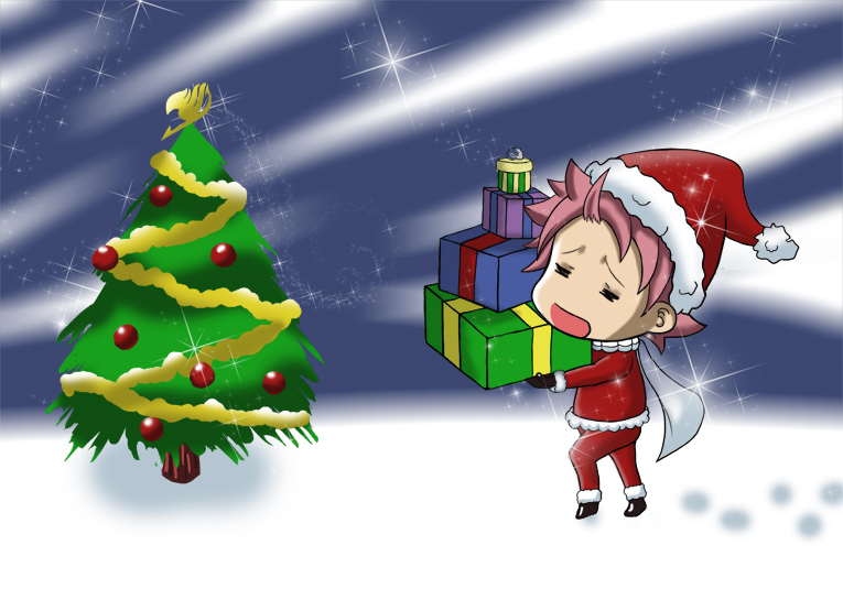 fairy tail anime christmas wallpaper - photo #27