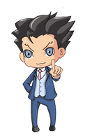 Phoenix Wright - Guess who is back by Megumi91