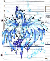 Blue bird by Effier-sxy