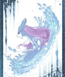suicune by Effier-sxy