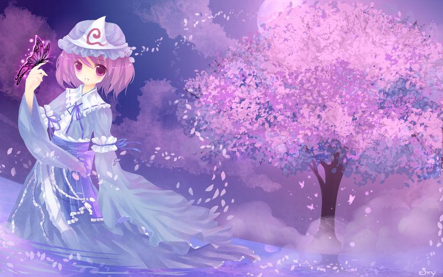 Yuyuko by Effier-sxy