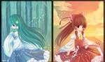 Reimu and Kochiya