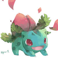 Ivysaur by Effier-sxy