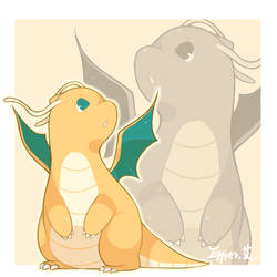 dragonite by Effier-sxy