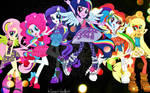 Equestria Girls Rock Wallpaper