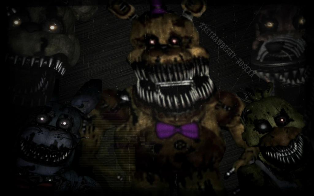 Five nights at freddy s 4 wallpaper by xsass queen alleyx on