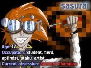 Orange-haired nerd ID