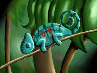 Chameleon mang