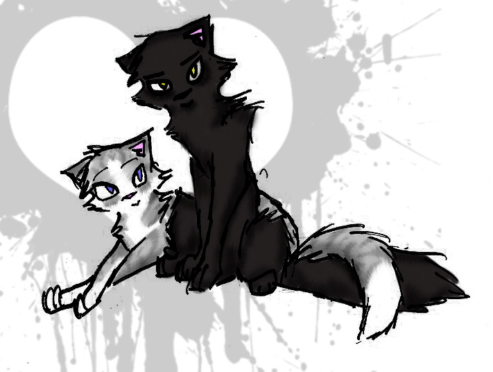 Ivypool and   Breezepelt     by JediMasterQuill jpgWarrior Cats Ivypool And Breezepelt
