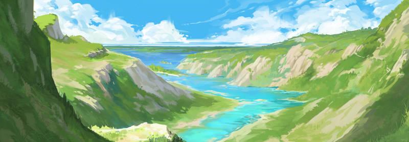 Sunny valley