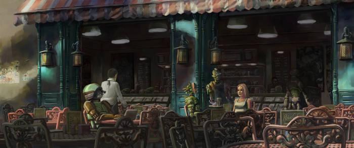 Robot Cafe