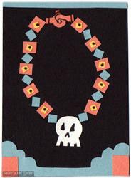 Linktober-Day19-Skull by V-V-Ditchum