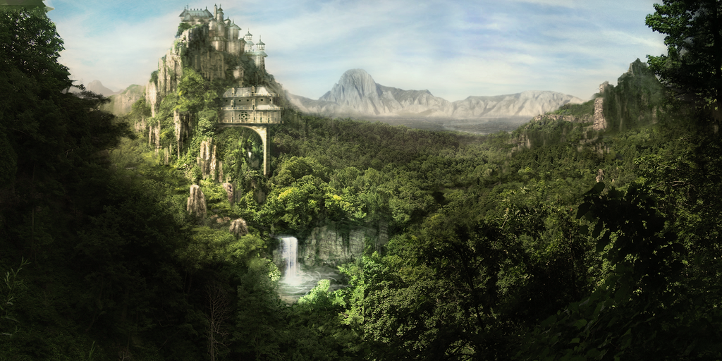 Cool fantasy art Fantasy_mountains_by_DudQuitter